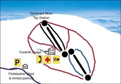 Swinhope Moor Sketch Ski Trail Map
