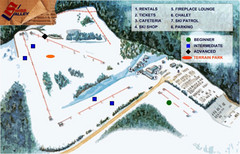 Swiss Valley Ski Lodge Ski Trail Map