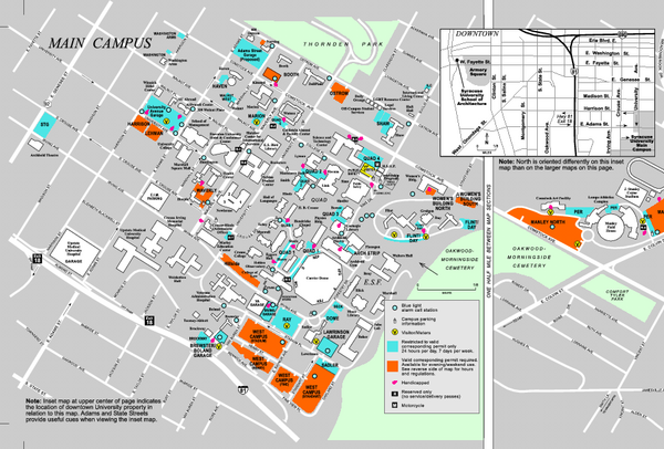 Syracuse University Map