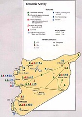 Syria Economic Activity Map