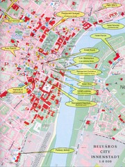 Szeged Tourist Map