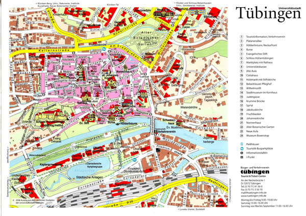 fullsize tbingen tourist map