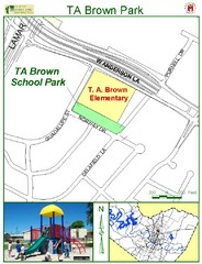 TA Brown Park Map