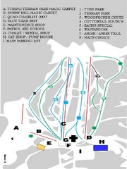 Table Mountain Ski Trail Map