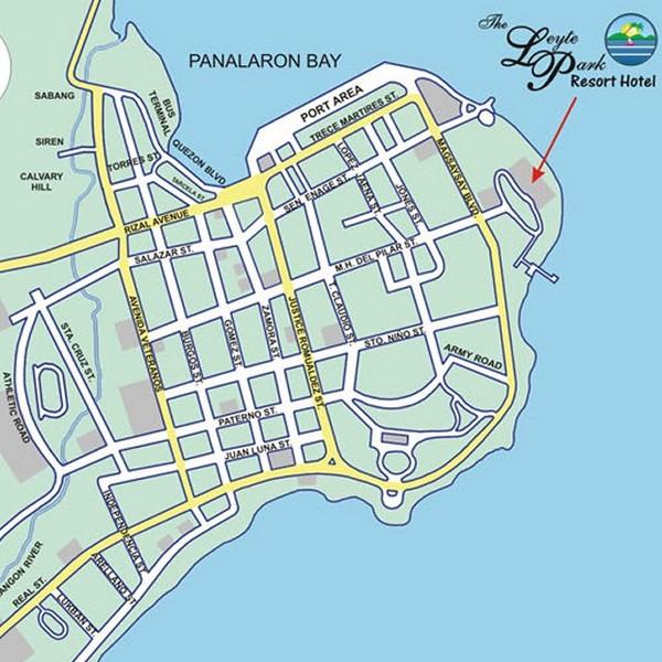 Tacloban Philippines Map.Tacloban City Map Tacloban City Mappery