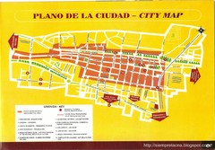 Tacna Tourist Map