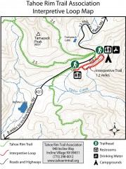 Tahoe Rim Trail: Interpretive Loop, Lake Tahoe...