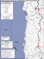 Tahoe Rim Trail: Spooner Summit to Kingsbury...