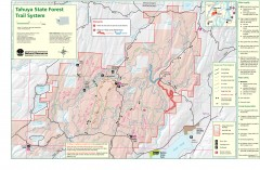 Tahuya State Forest Trail Map