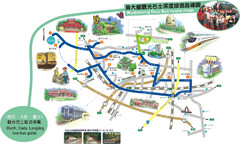 Taichung City Tour Bus Map