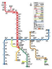 Taipei Rapid Transit Map