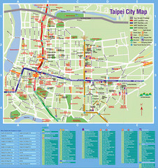 Taipei Tourist Map