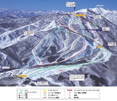 Takasu Ski Trail Map