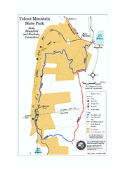 Talcott Mountain State Park map