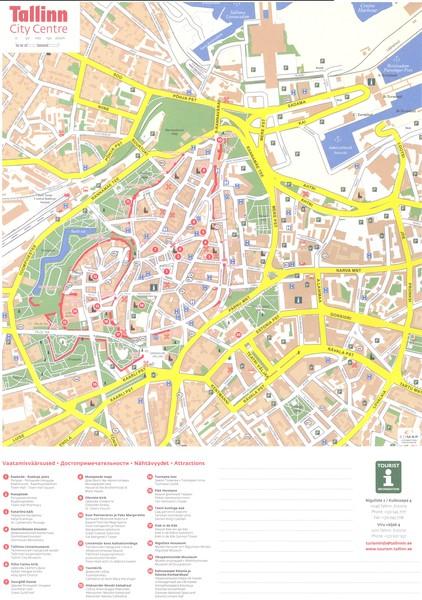 Haapsalu Tourist Map Haapsalu Estonia mappery