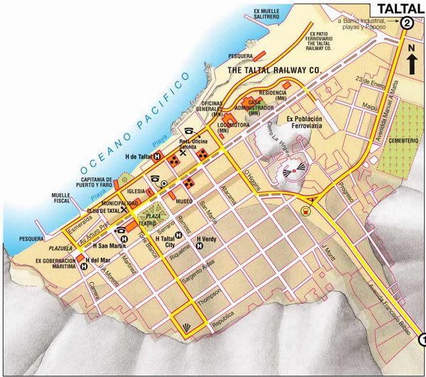 Taltal Map