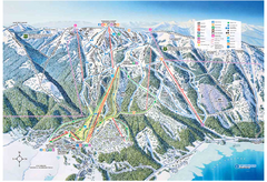 Tamarack Resort Ski Trail Map