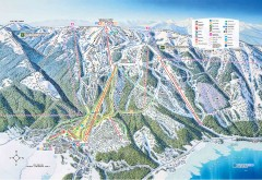Tamarack Ski Trail Map