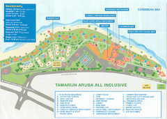 Tamarijn Aruba Resort Map