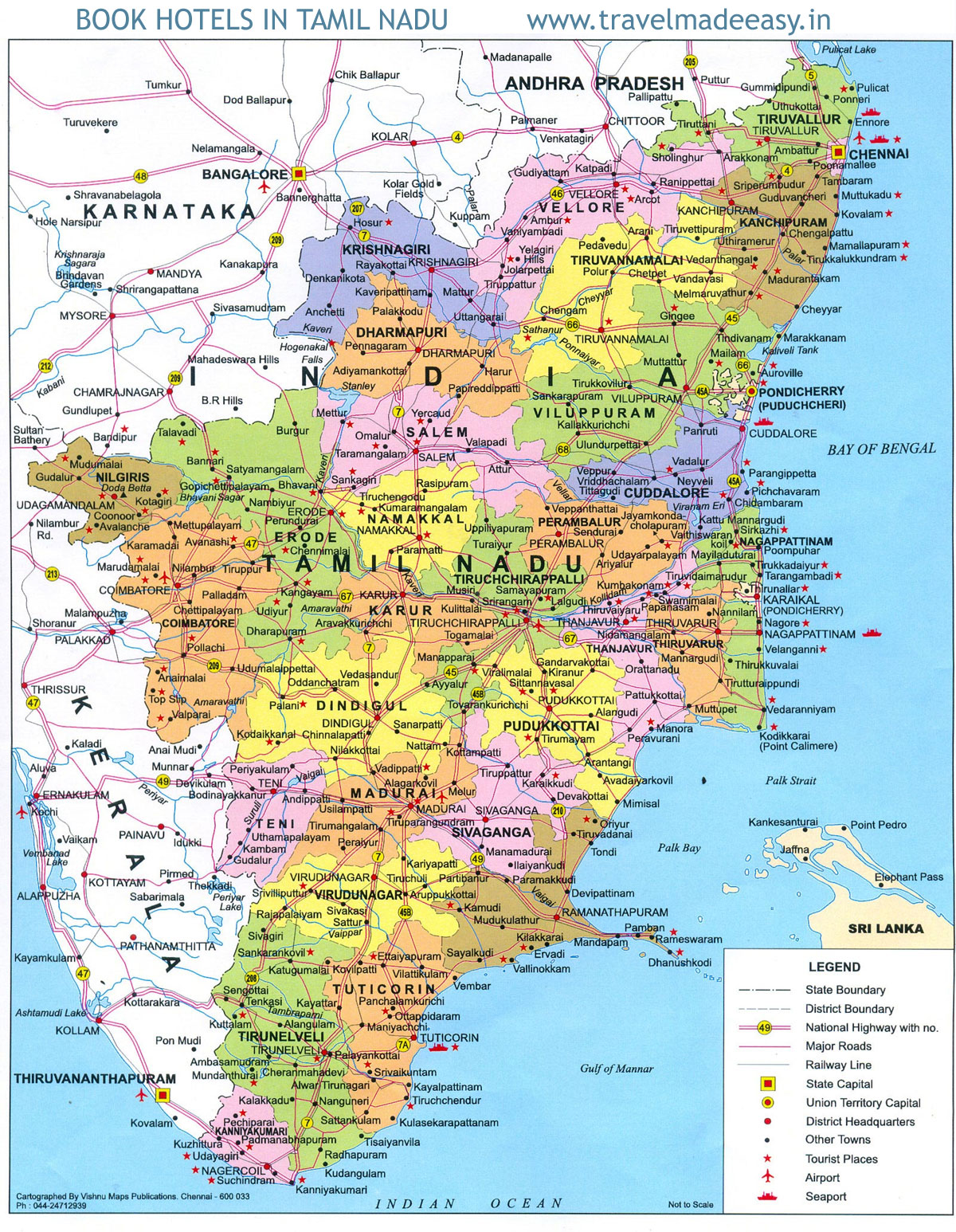 Tamil nadu map mappery gumiabroncs Gallery