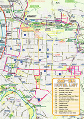 Tapei Tourist Map
