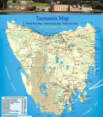 'Tasmania Map' from the web at 'http://www.mappery.com/maps/Tasmania-Map.thumb.jpg'