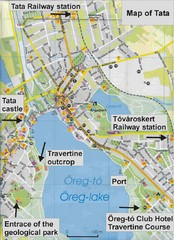 Tata Tourist Map