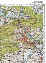 Tbilisi Topographic Map