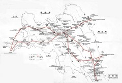 Tea Horse Caravan Route Map