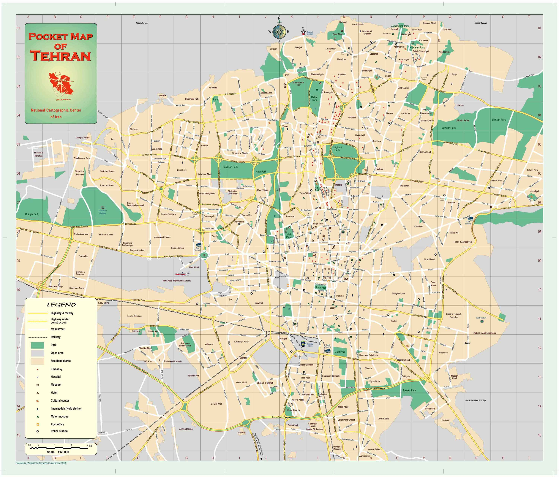 Tehran Map | Maps
