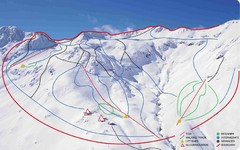 Temple Basin Ski Trail Map