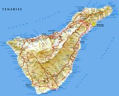 La Gomera Island Map La Gomera mappery