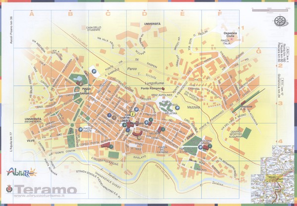 Teramo Map Teramo IT mappery