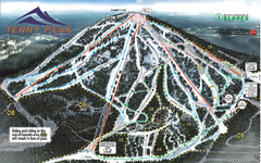 Terry Peak Ski Area Ski Trail Map