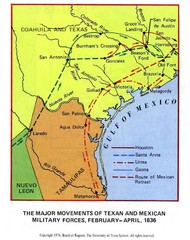 Texan and Mexican Military Forces in Texas 1836...