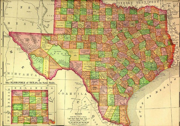 Historical Texas Maps
