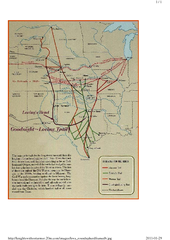 Texas, Cattle Trails Map