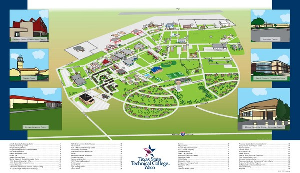 Texas State Technical College Waco Map   Waco TX • mappery