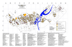 Texas State University Map