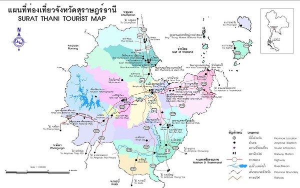 Thailand Tourist Map Thailand mappery – Thailand Tourist Map
