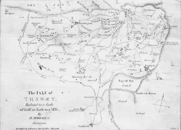 Thanet Isle Map