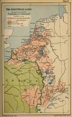 The Burgundian Lands Historical Map