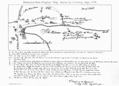 The Campaign of 1776 around New York and Brooklyn Map