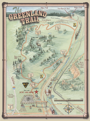 The Greenland Trail Map