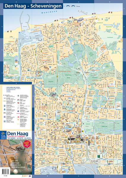The Hague Tourist Map The Hague Tourist Map   The Hague Netherlands • mappery