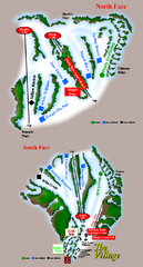 The Homestead Ski Trail Map