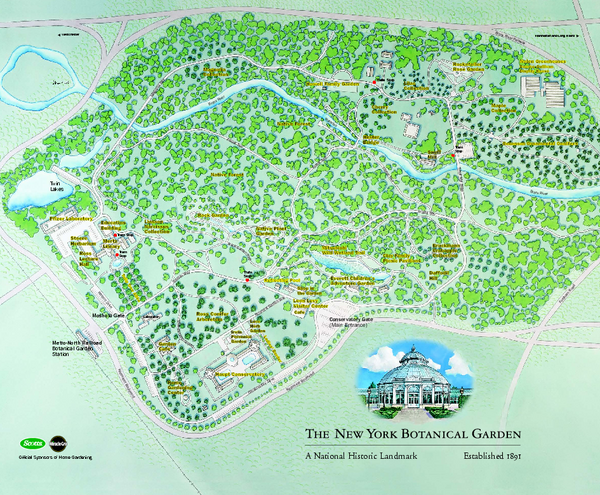 Ordinaire Fullsize The New York Botanical Garden Map