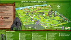 The Schmutzer Primate Center Map