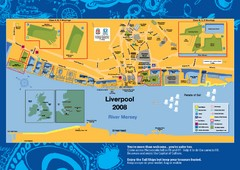 The Tall Ships Race in Liverpool Map