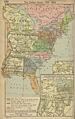 The United States - 1783-1803 Historical Map